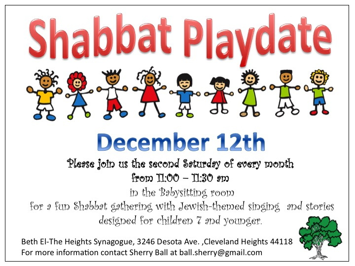 Shabbat playdate Dec
