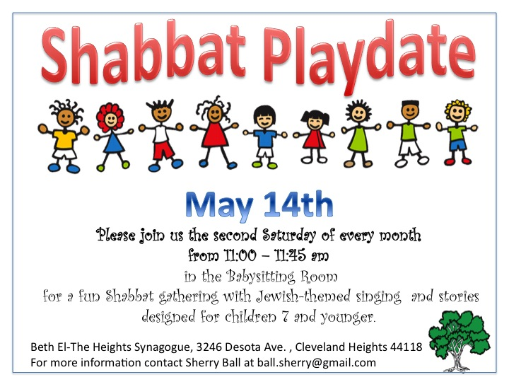 Shabbat Playdate May from PPT